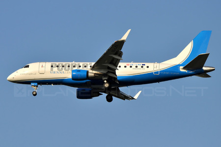 Embraer E170LR (ERJ-170-100LR) - OE-LMK operated by People`s Viennaline
