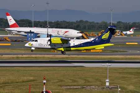 Dornier 328-110 - HB-AEV operated by SkyWork Airlines