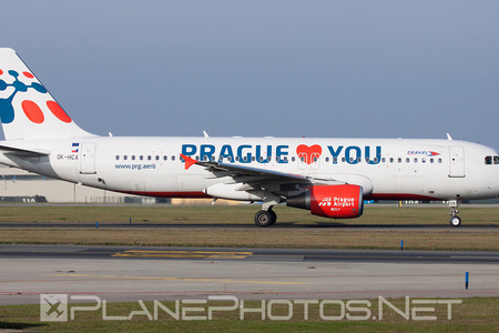 Airbus A320-214 - OK-HCA operated by Travel Service