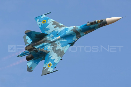 Sukhoi Su-27S - 56 operated by Povitryani Syly Ukrayiny (Ukrainian Air Force)