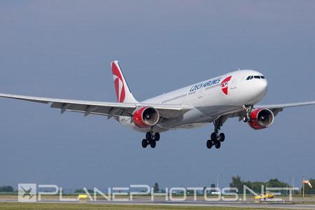 Airbus A330-323X - OK-YBA operated by CSA Czech Airlines