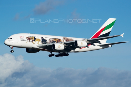 Airbus A380-861 - A6-EEI operated by Emirates