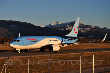 Boeing 737-800 - G-TAWH operated by Thomson Airways