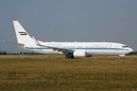 Boeing 737-800 BBJ2 - A6-MRM operated by United Arab Emirates - Dubai Air Wing