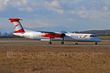Bombardier DHC-8-Q402 Dash 8 - OE-LGK operated by Austrian arrows (Tyrolean Airways)