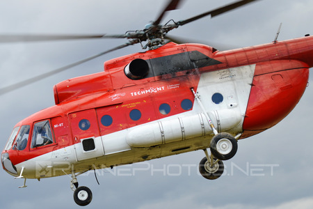 Mil Mi-8T - OM-EVA operated by TECH-MONT Helicopter company