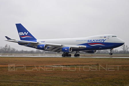 Boeing 747-400F - 4K-SW008 operated by Silk Way West Airlines