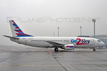 Boeing 737-400 - OM-GTA operated by Go2Sky