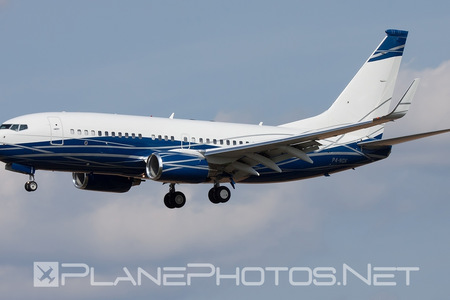 Boeing 737-700 BBJ - P4-NGK operated by Private operator
