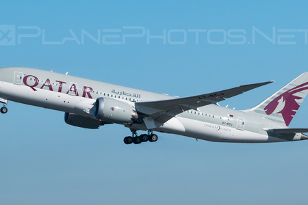 Boeing 787-8 Dreamliner - A7-BCJ operated by Qatar Airways