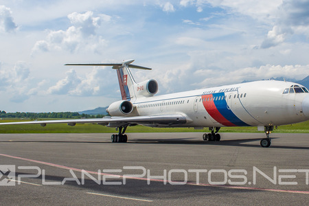 Tupolev Tu-154M - OM-BYO operated by Letecký útvar MV SR (Slovak Government Flying Service)