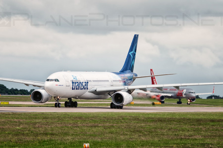 Airbus A330-243 - C-GTSJ operated by Air Transat