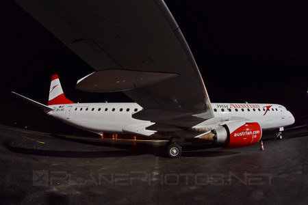 Embraer E195LR (ERJ-190-200LR) - OE-LWD operated by Austrian Airlines