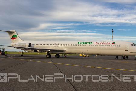 McDonnell Douglas MD-82 - LZ-LDT operated by Bulgarian Air Charter