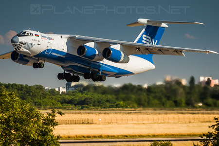 Ilyushin Il-76TD-90 - 4K-AZ100 operated by Silk Way Airlines