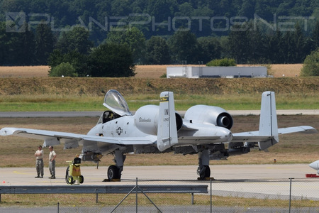Fairchild A-10C Thunderbolt II - 80-0243 operated by US Air Force (USAF)