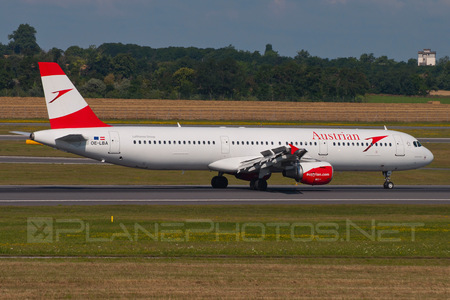 Airbus A321-111 - OE-LBA operated by Austrian Airlines