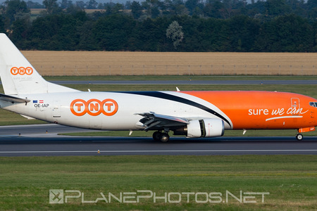 Boeing 737-400SF - OE-IAP operated by TNT Airways