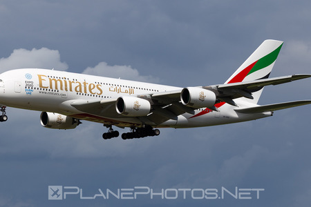 Airbus A380-861 - A6-EOZ operated by Emirates