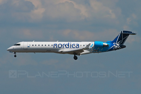 Bombardier CRJ701ER - ES-ACF operated by Nordica