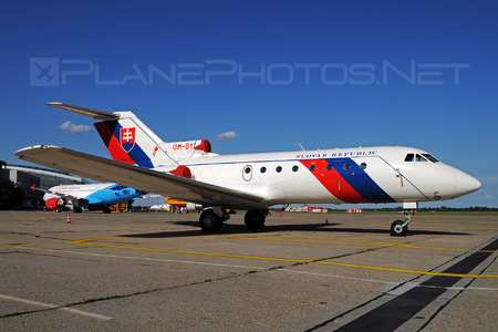Yakovlev Yak-40 - OM-BYL operated by Letecký útvar MV SR (Slovak Government Flying Service)