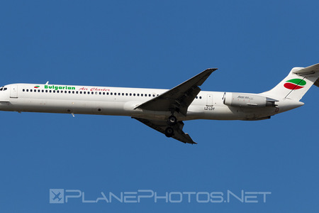 McDonnell Douglas MD-82 - LZ-LDY operated by Bulgarian Air Charter