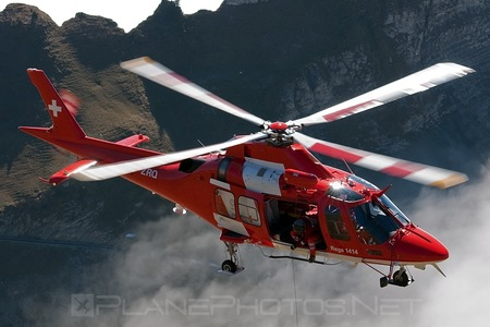 AgustaWestland AW109SP Grand New - HB-ZRQ operated by REGA - Swiss Air Ambulance