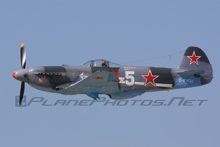 Yakovlev Yak-3UA - D-FYGJ operated by Private operator