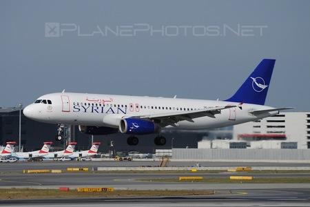 Airbus A320-232 - YK-AKF operated by SyrianAir - Syrian Arab Airline