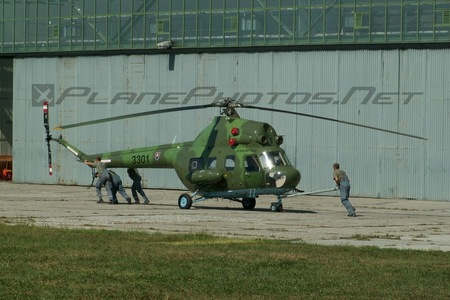 Mil Mi-2 - 3301 operated by Vzdušné sily OS SR (Slovak Air Force)