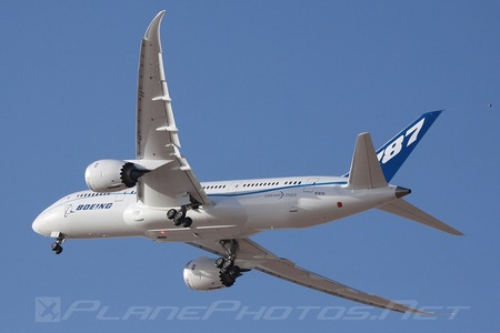 Boeing 787-8 Dreamliner - N7874 operated by Boeing Company
