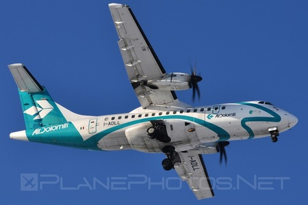 ATR 42-500 - I-ADLL operated by Air Dolomiti