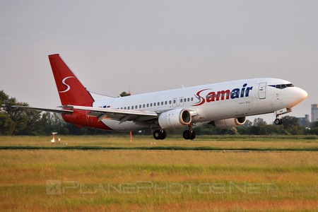 Boeing 737-400 - OM-SAA operated by Samair