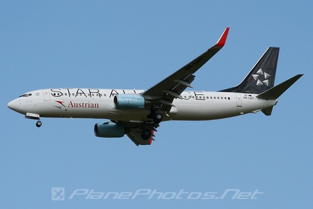 Boeing 737-800 - OE-LNT operated by Austrian Airlines