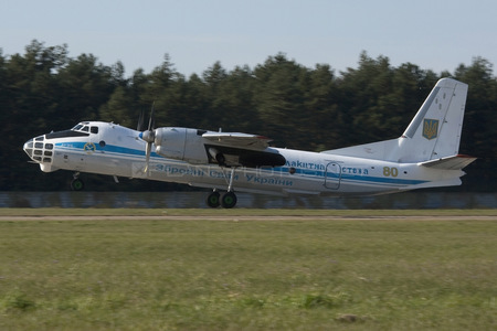 Antonov An-30B - 80 operated by Povitryani Syly Ukrayiny (Ukrainian Air Force)