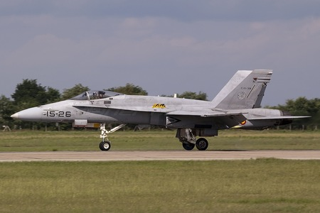 McDonnell Douglas EF-18A+ Hornet - C.15-39 operated by Ejército del Aire (Spanish Air Force)