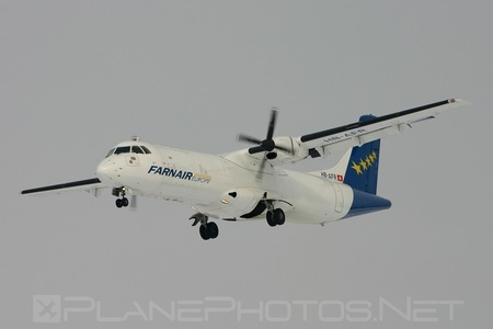 ATR 72-201 - HB-AFR operated by Farnair Europe