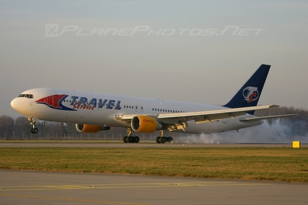 Boeing 767-300ER - TF-FIB operated by Travel Service