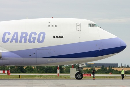 Boeing 747-400F - B-18707 operated by China Airlines Cargo