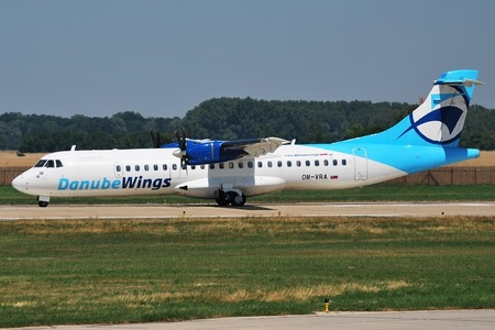 ATR 72-202 - OM-VRA operated by Danube Wings