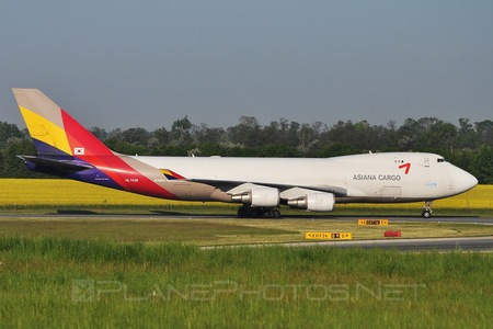 Boeing 747-400F - HL7436 operated by Asiana Cargo