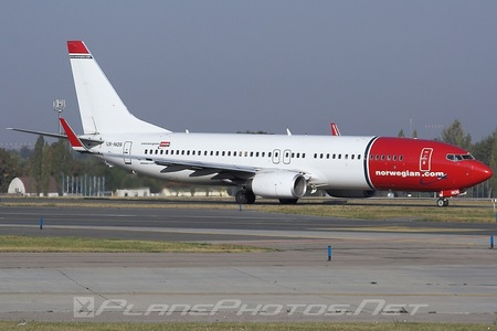 Boeing 737-800 - LN-NOS operated by Norwegian Air Shuttle