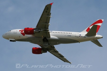 Airbus A319-112 - OK-OER operated by CSA Czech Airlines