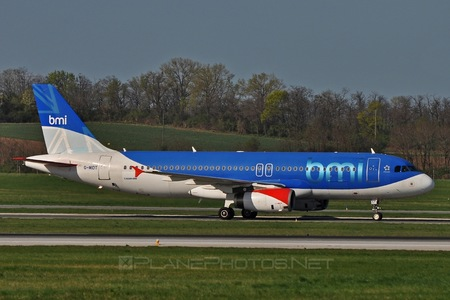 Airbus A320-232 - G-MIDT operated by bmi British Midland