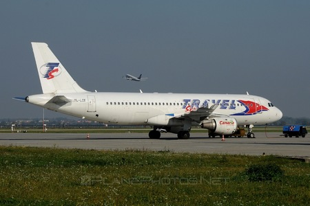 Airbus A320-211 - YL-LCE operated by Travel Service