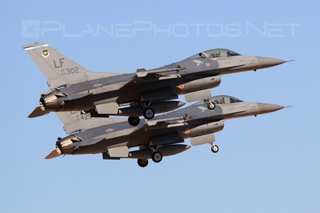 General Dynamics F-16C Fighting Falcon - 84-1302 operated by US Air Force (USAF)
