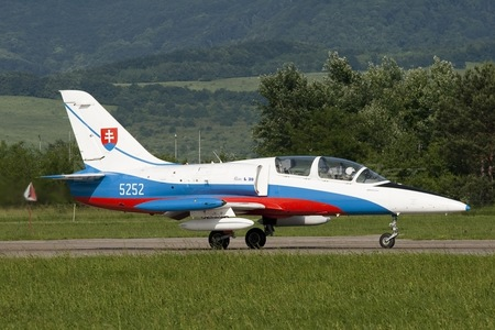 Aero L-39CM Albatros - 5252 operated by Vzdušné sily OS SR (Slovak Air Force)
