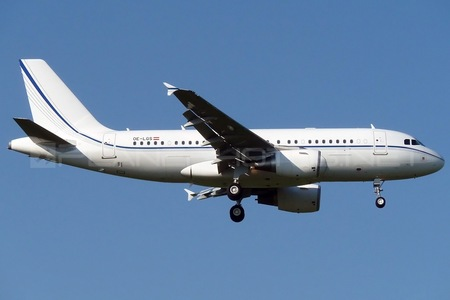 Airbus ACJ319-115X - OE-LGS operated by K5-Aviation