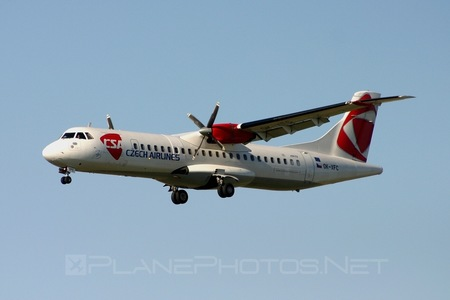 ATR 72-202 - OK-XFC operated by CSA Czech Airlines