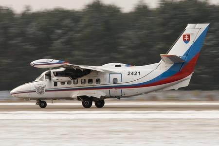Let L-410UVP-E Turbolet - 2421 operated by Vzdušné sily OS SR (Slovak Air Force)